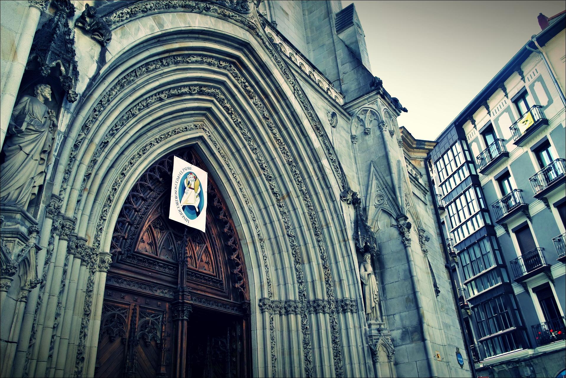 성당-'카미노 데 산티아고 북쪽길. 빌바오. (Camino del Norte - Bilbao)'