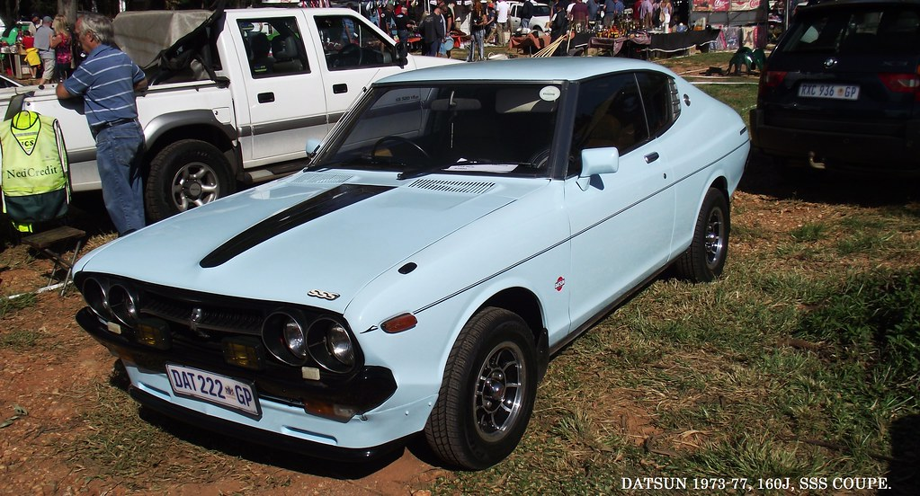 What Is Ce >> Datsun 1973-77, 160J, SSS Coupe. | Paul Horn | Flickr