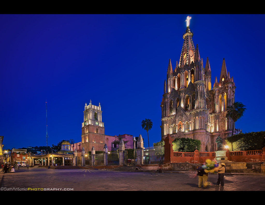 Parroquia De San Miguel Arc 225 Ngel San Miguel De Allende