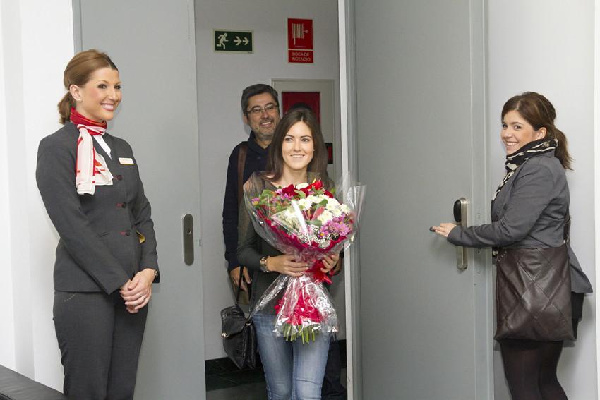 Evento pasajera 5 millones de iberia express recibimos for Oficinas iberia express