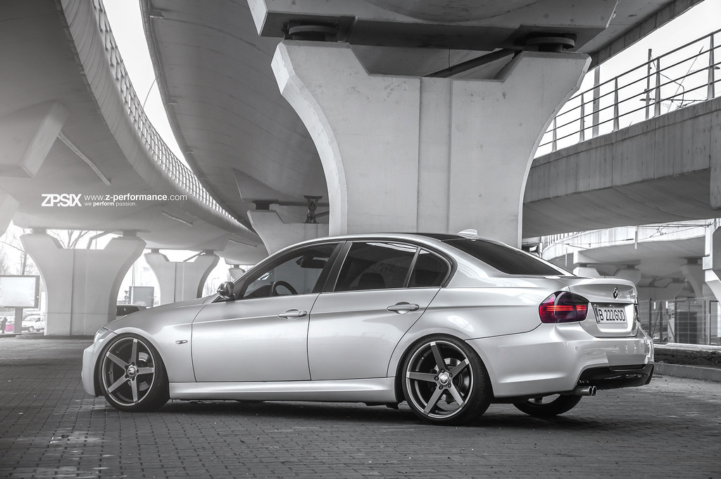 Bmw E90 Zp 6 Gunmetal Www Z Performance Com Flickr