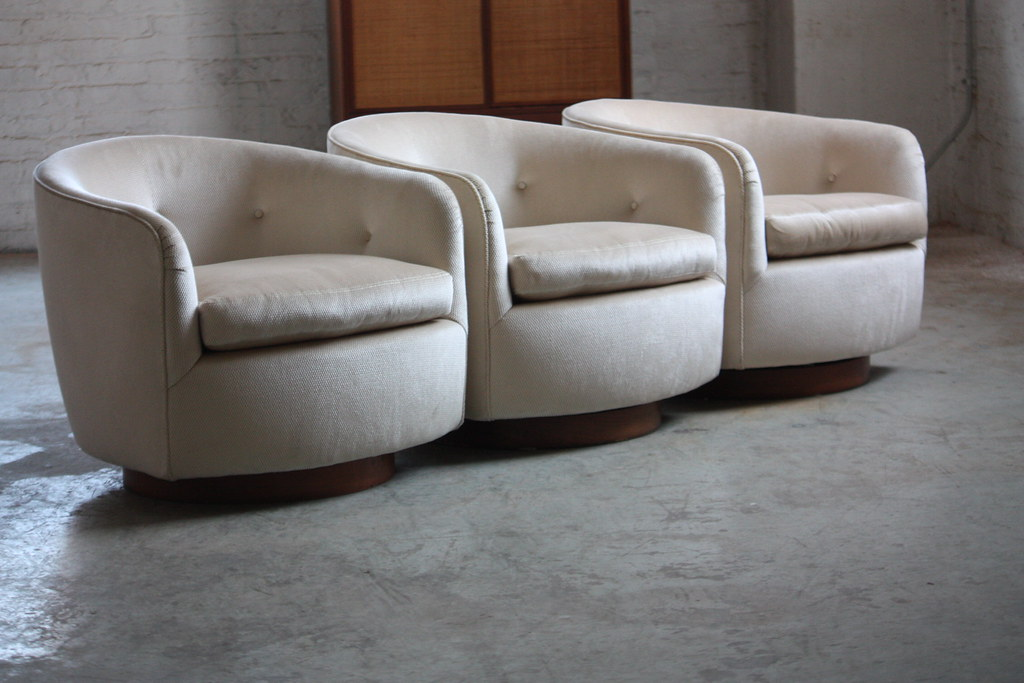 ferocious milo baughman mid century modern swivel rocker b flickr. Black Bedroom Furniture Sets. Home Design Ideas