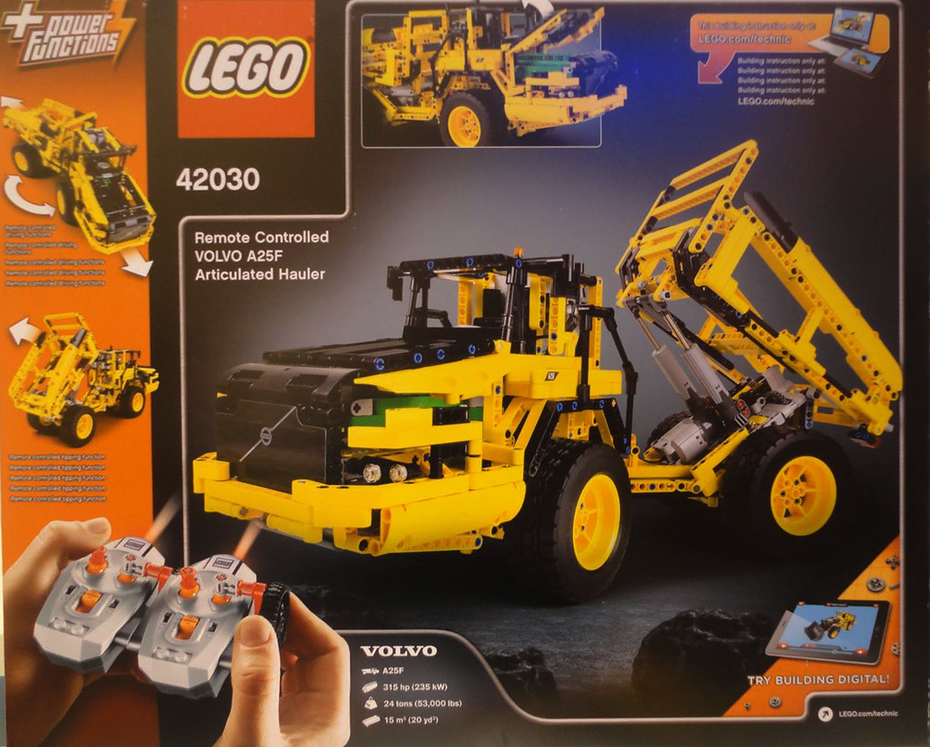 lego technic 42030 volvo a25f articulated hauler flickr. Black Bedroom Furniture Sets. Home Design Ideas