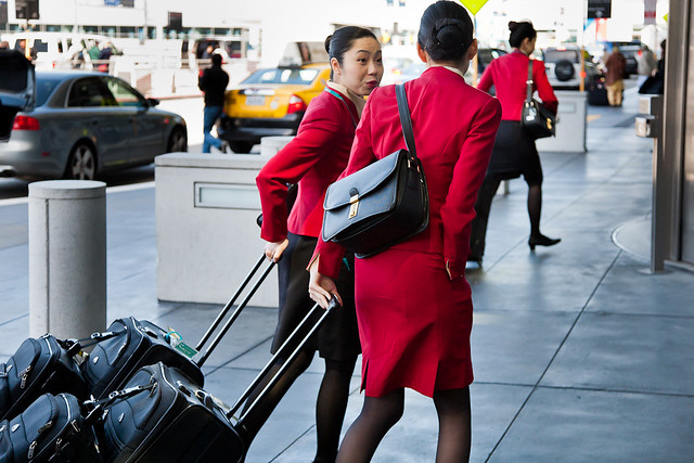Cathay Pacific flight attendants | Flickr - Photo Sharing!