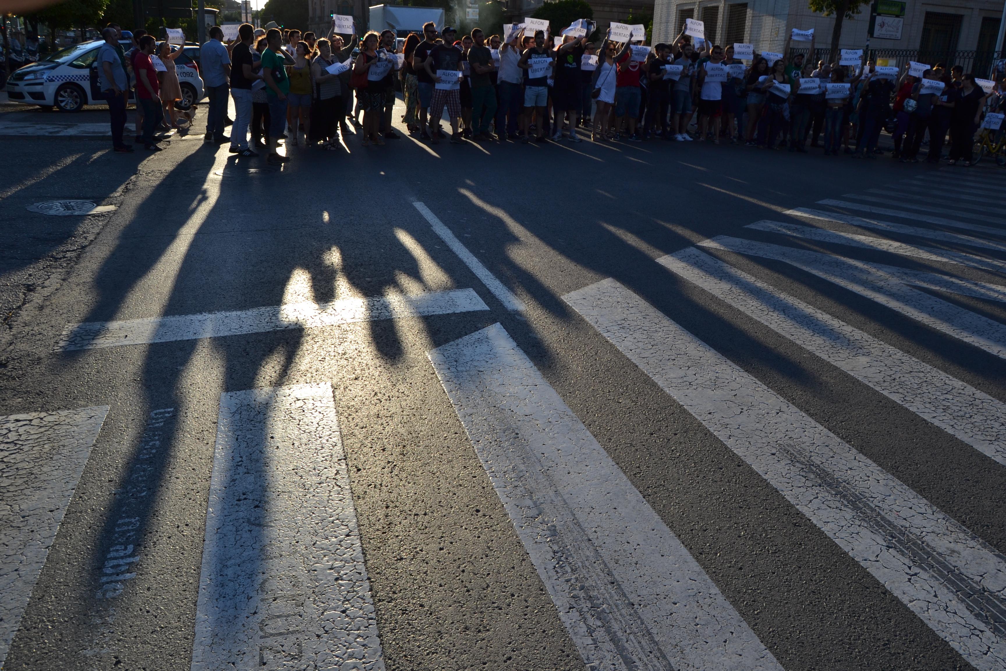 Murcia, Los Garres y manifestación de apoyo #Alfonlibertad 18/06/2015. Fotos de #zeroanodino para #URBANARTIMAÑA