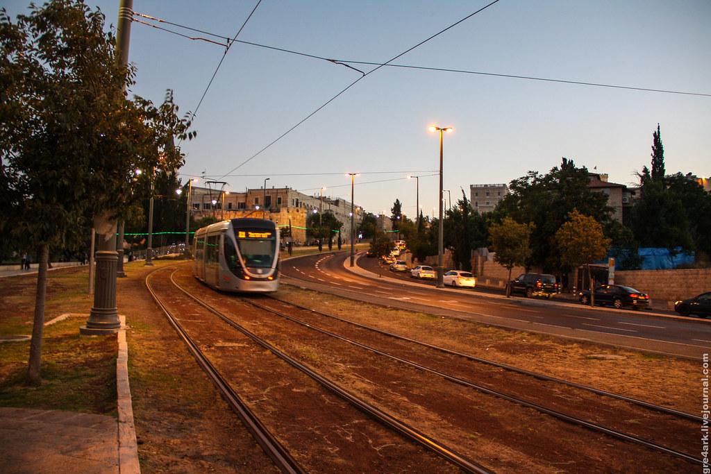 это иерусалимский трамвай: