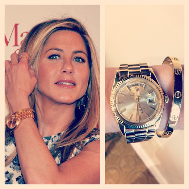Get Jennifer Anniston 39 S Red Carpet Look With A Yellow Gold Flickr