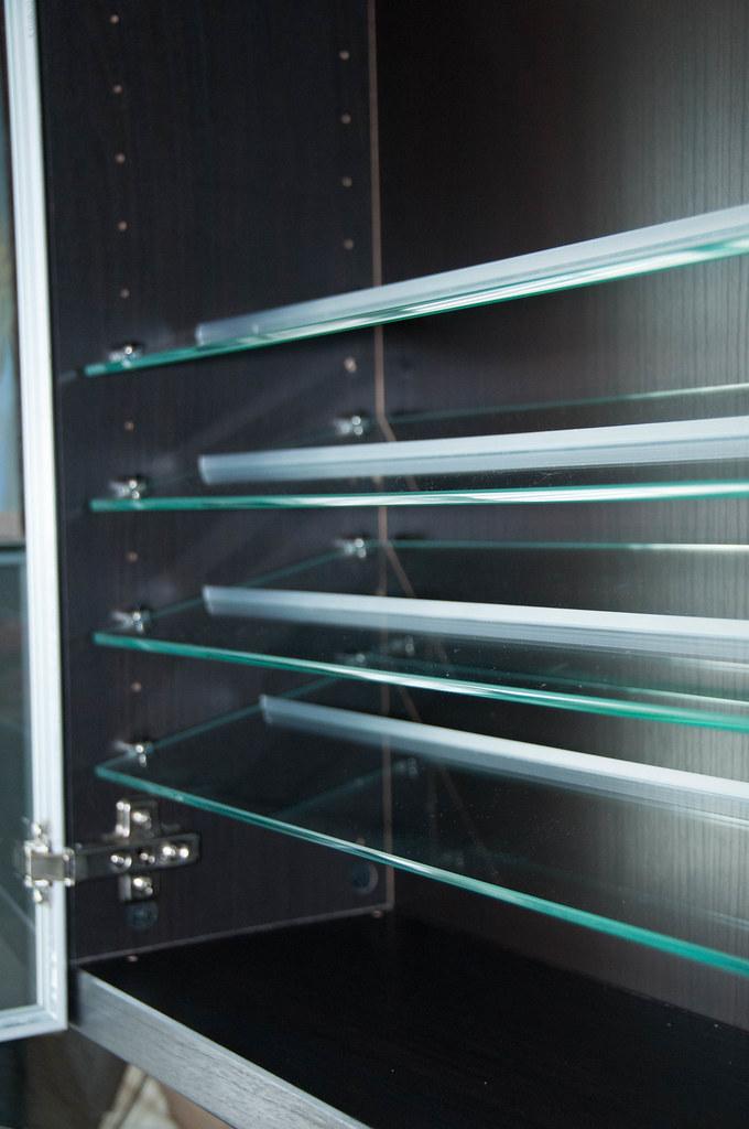 Ikea Inreda Glass Shelves For Wall Mounted Besta Cabinet