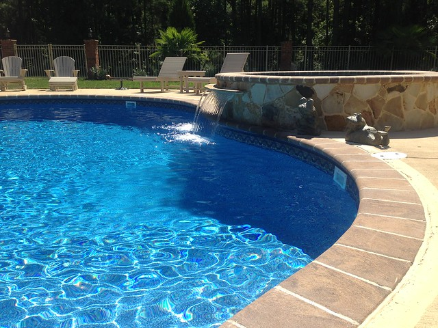 Inground swimming pool spa combo 7 flickr photo sharing for Uniform swimming pool spa and hot tub code