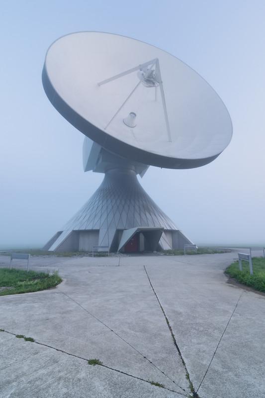 Raisting - Parabolic Antenna @ 6 58AM CEST - Communication