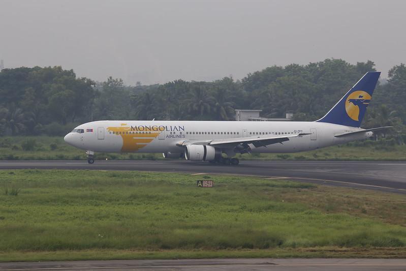 Boeing 767 in Bangladesh