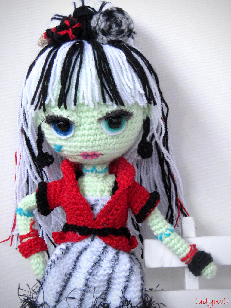Frankie Stein Sweet Screams Amigurumi This is my crochet ...