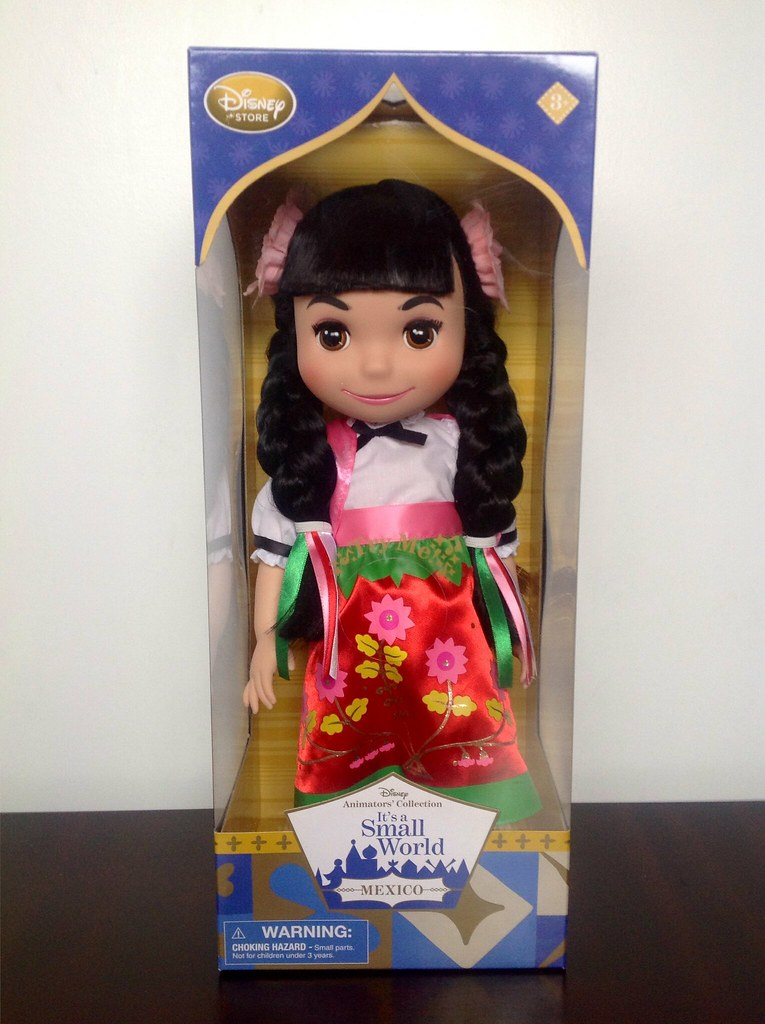 Dolls of The World Collection a Small World México Doll