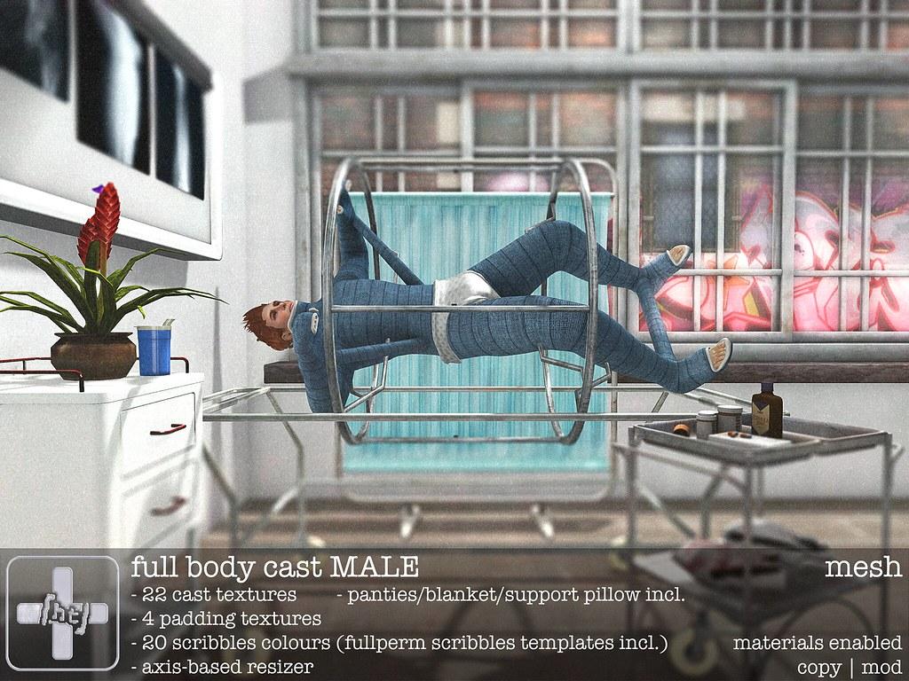 Ht Full Body Cast M Male Version Of The Ht Full