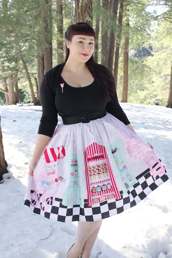 novelty retro skirt