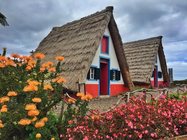 Casas de Santana en Madeira