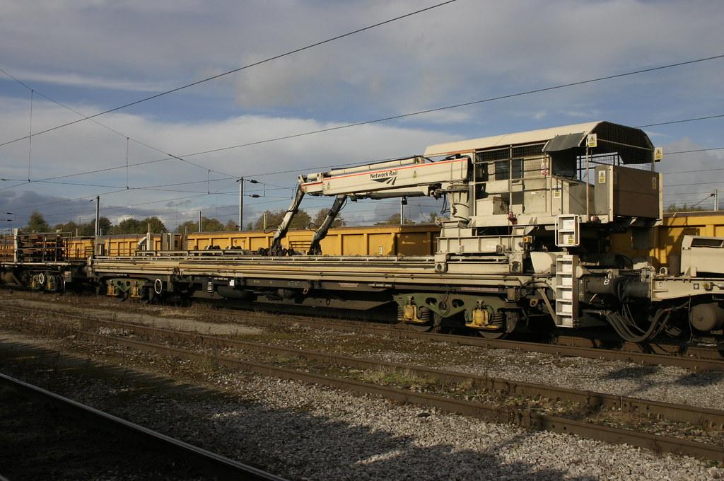 56 Tonne Long Welded Rail Train Manipulator Wagon Flickr