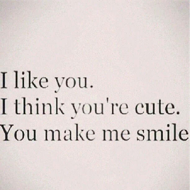 Cute Quotes About A Boy You Like: #boy #girl #cute #adorable #crush #love #PinQuotes #me #re