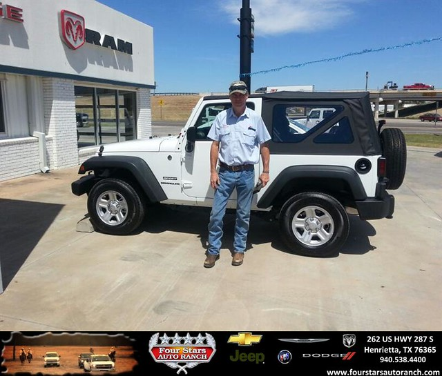 thank you to mark mixon on your new jeep wrangler from bill reed and everyone at four stars auto. Black Bedroom Furniture Sets. Home Design Ideas