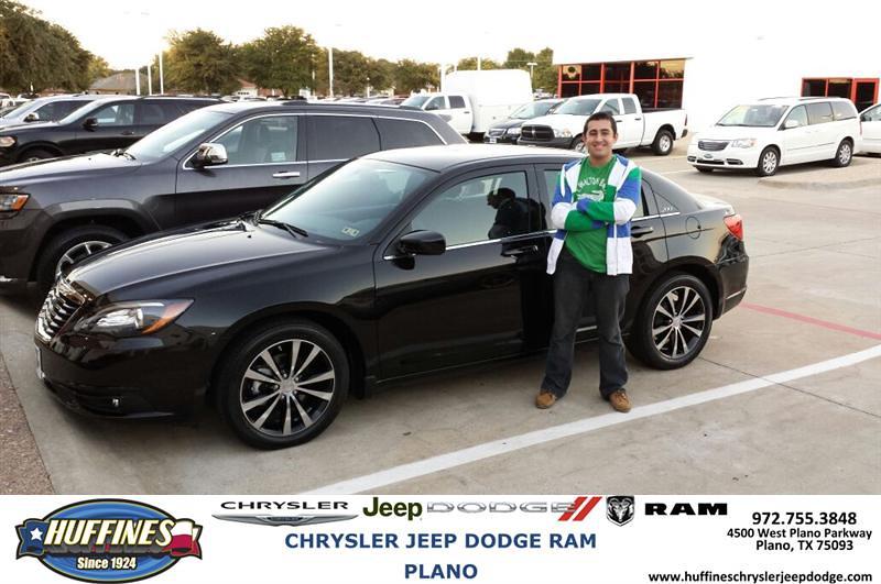 Thank You To Hachik Kantzabedian On Your New Chrysler Fro
