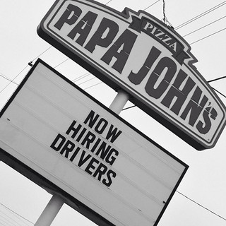 Now hiring. Photo by Blue MauMau