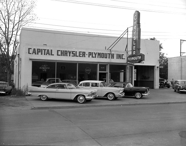 Chrysler Plymouth Dealership 1957 State Archives Of