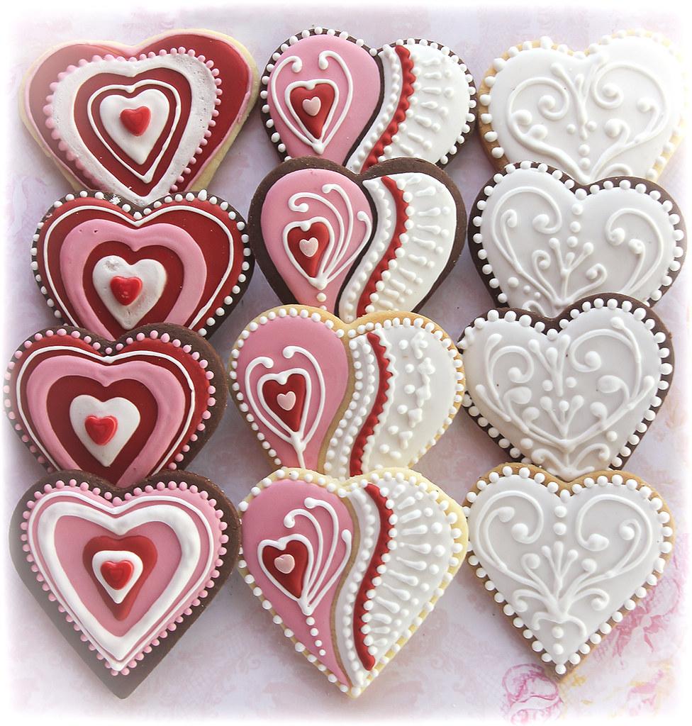 Valentines Decoration Cookies