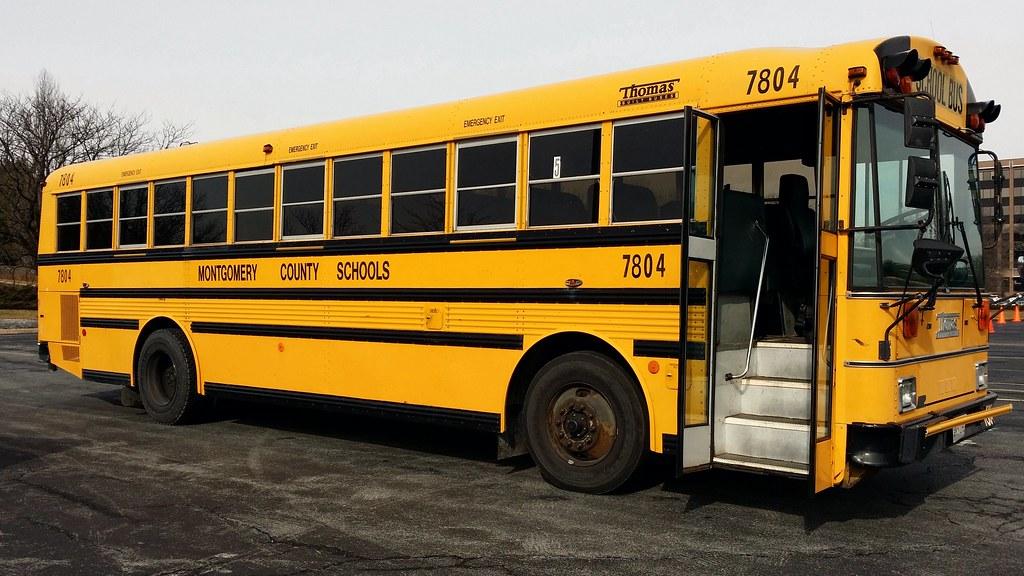 Thomas Built Buses >> Right side of Thomas Built MVP ER school bus | Right side of… | Flickr