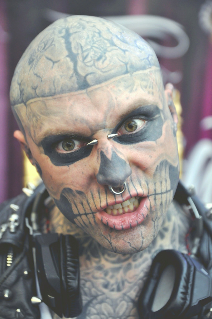 Zombie Boy Great British Tattoo Show London Www Idjphot Flickr