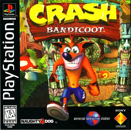 Crash Bandicoot - box