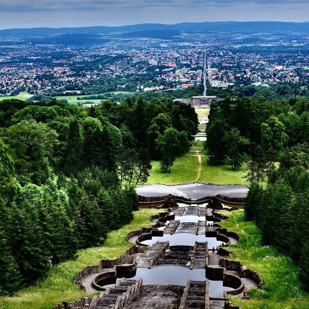 overlooking the city of kassel germany from the top of t flickr. Black Bedroom Furniture Sets. Home Design Ideas