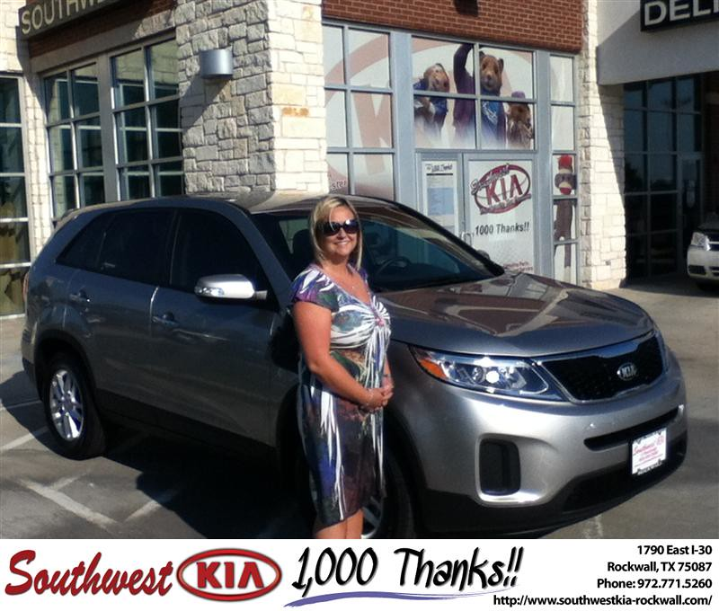 Southwest Kia Rockwall >> Thank you to Kristen Brody on the 2014 Kia Sorento from Ju… | Flickr