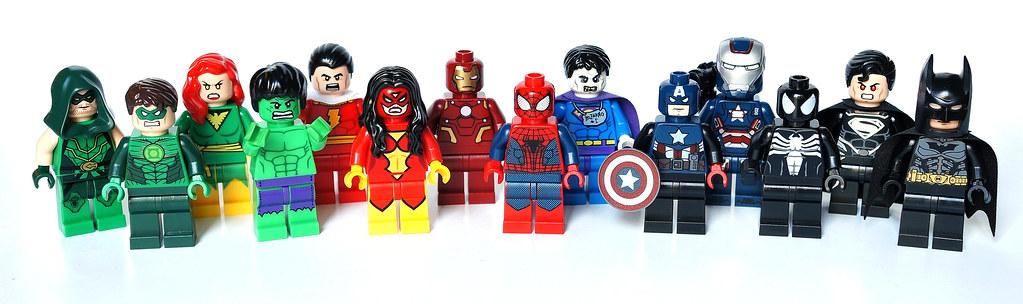 Lego sdcc super heroes j r me flickr - Logo super heros ...