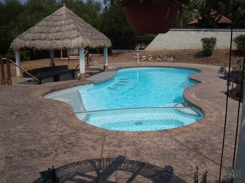 San Juan 39 S Pleasure Island Fiberglass Pool By Backyard