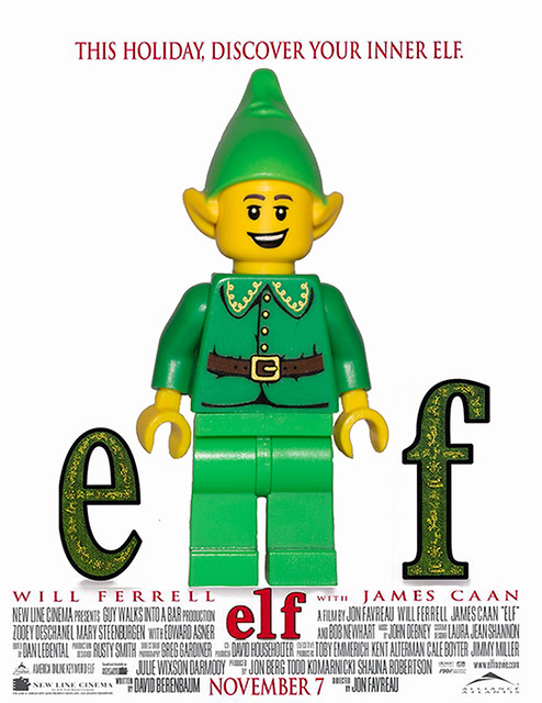 Lego Minifig Elf Lord Of The Rings