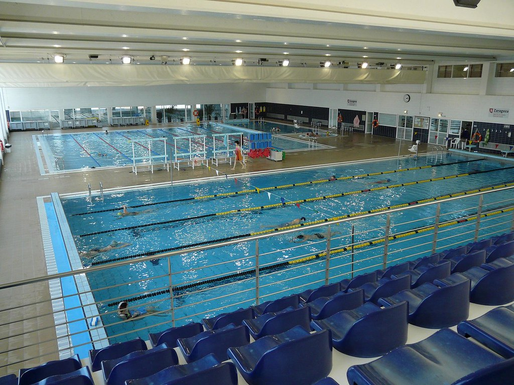 Cdm alberto maestro piscina cubierta ayuntamiento de for Piscina cubierta zaragoza