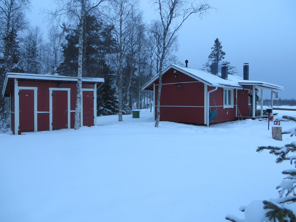 Luggage Tag...: A Cabin in the Woods of Lapland