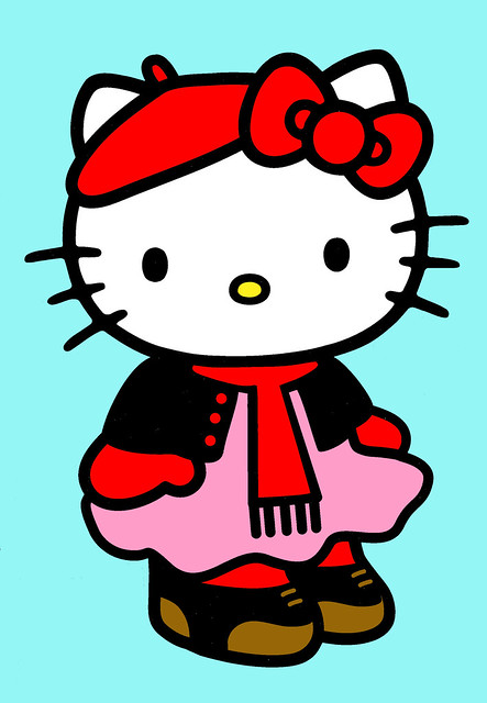 Hello Kitty in winter outfit | Flickr - Photo Sharing!