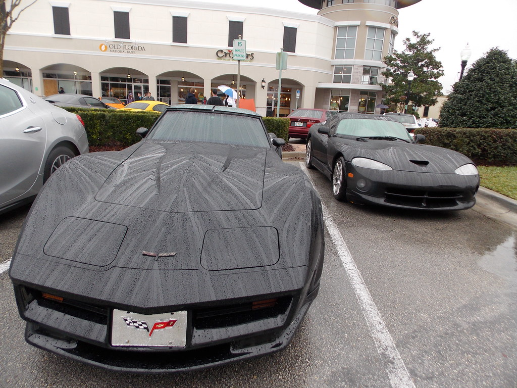 American Musclecars Style A Soggy Corvette Sting Flickr