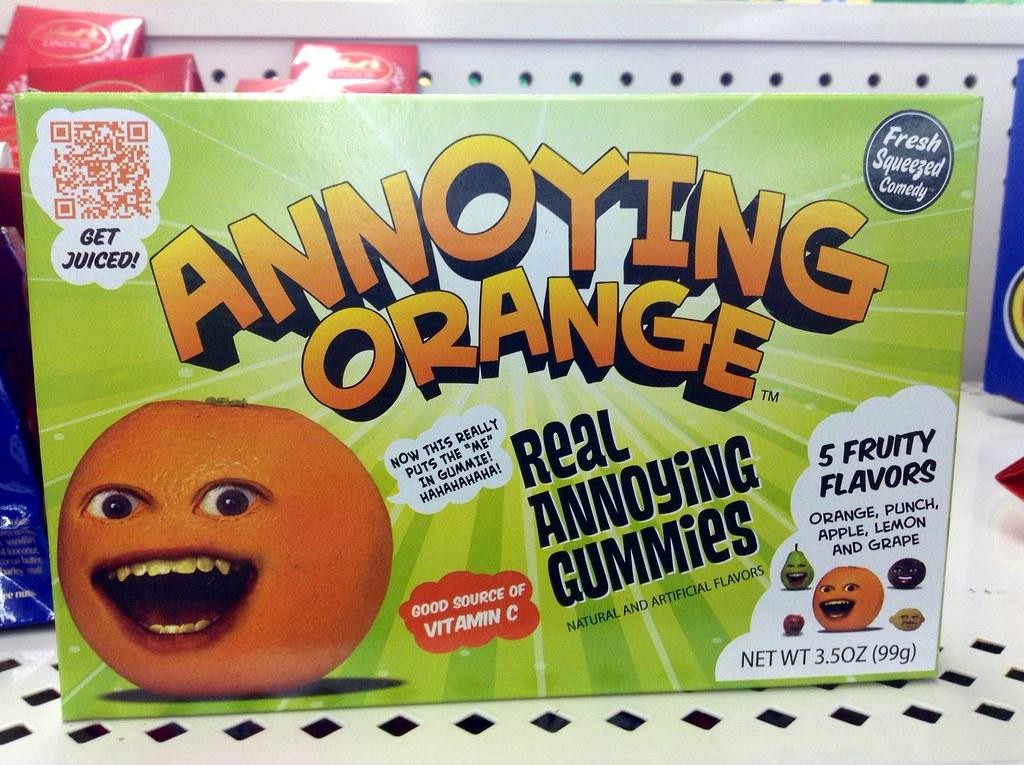 annoying orange usa candy february 2014