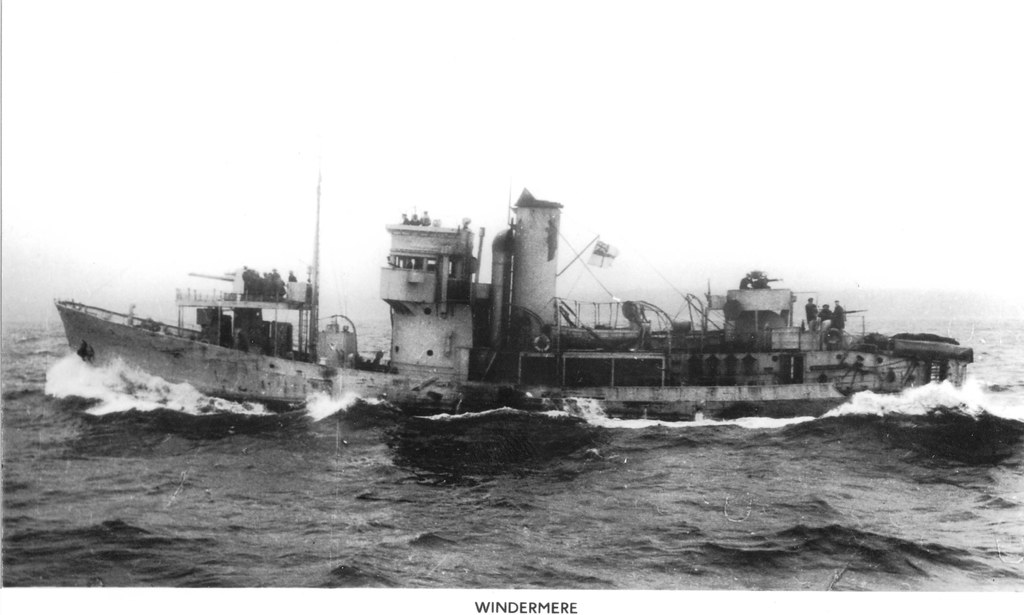 Windemere   HMS WINDERMERE (Fy. 207) Built by Smith's Dock ...