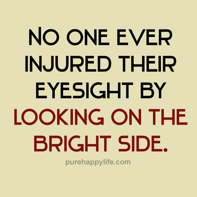 Image result for bright side