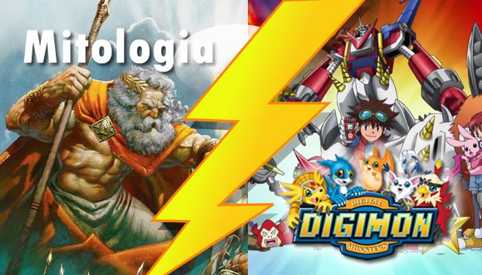 A Mitologia em Digimon
