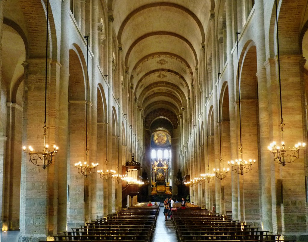 Toulouse - St-Sernin | The Basilica of St. Sernin in ...