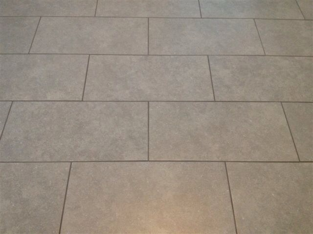 Port richey florida 12x24 gray porcelain tile brick join
