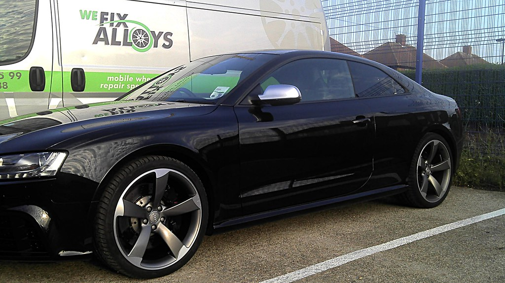 Audi Rs5 5 Arm Rotor Diamond Cut Design Alloy Wheels Finis