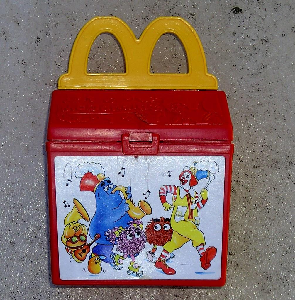 Mcdonalds Meal Box Mcdonald's Plastic Happy Meal