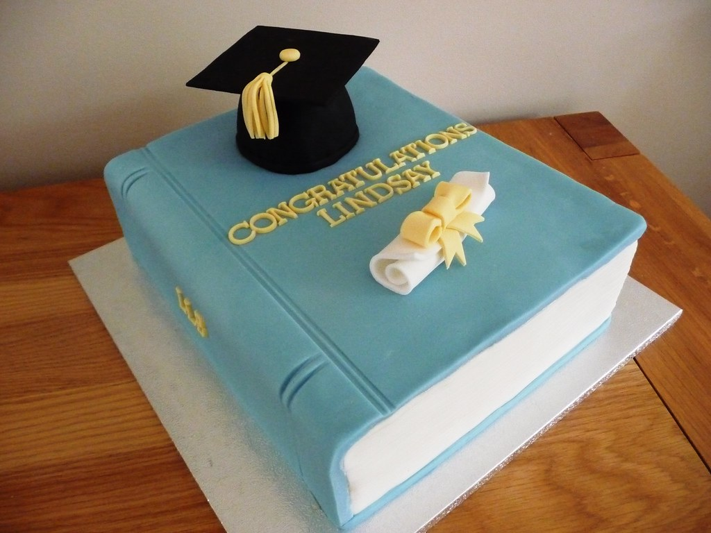 Cake Designs Book Shape : Graduation Cake Anne Hepworth Smith Flickr