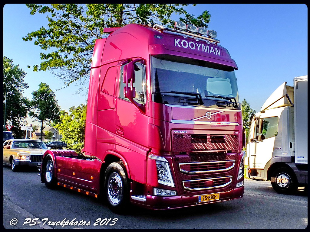 VOLVO FH13 GlobetrotterXL - Kooyman - NL (2) | PS-Truckphotos | Flickr