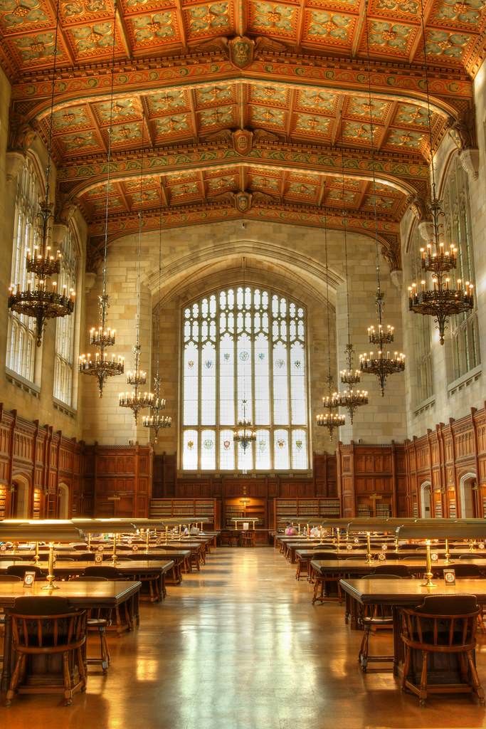 Michigan Law Library Reading Room